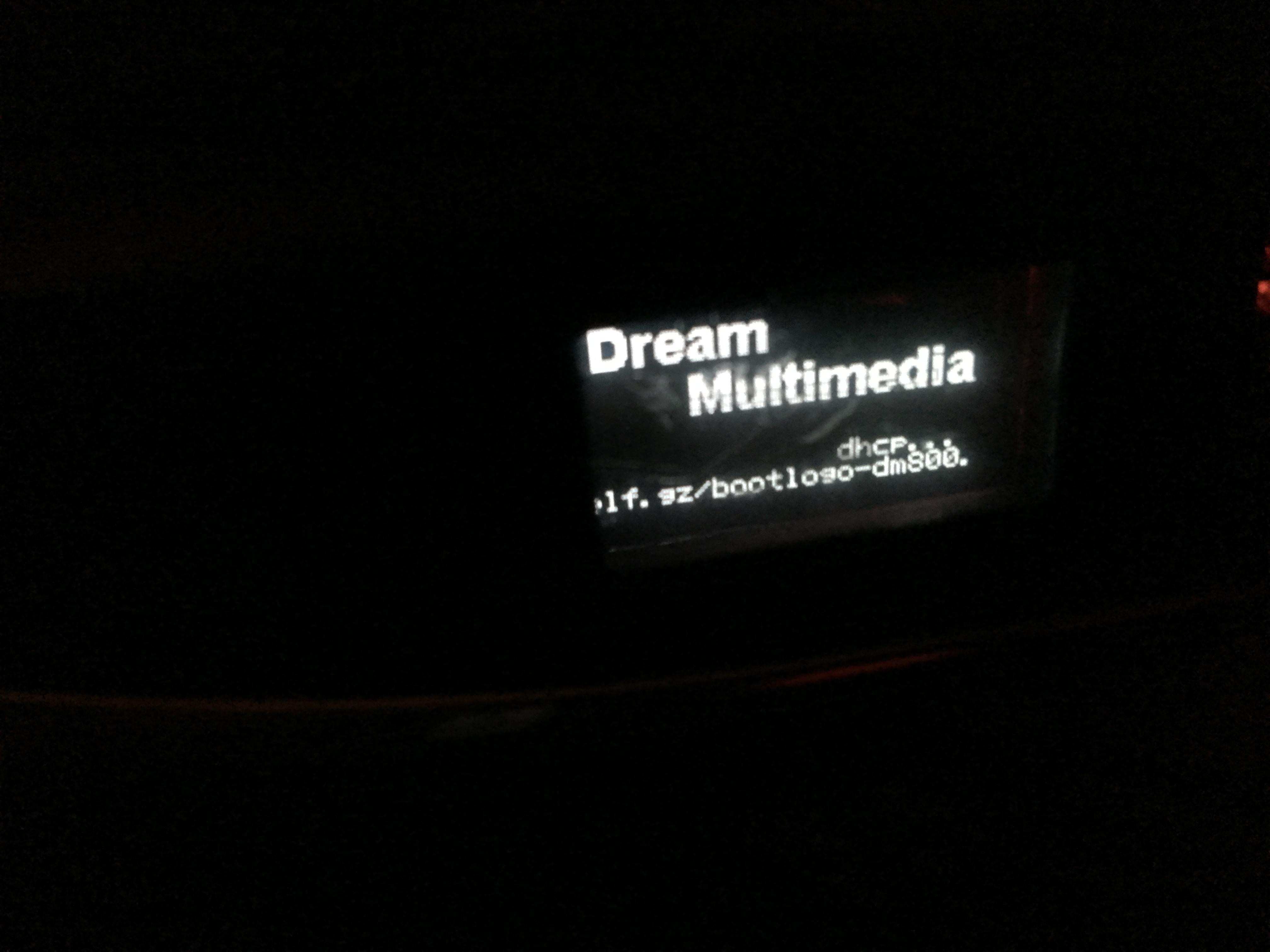 Dream Multimedia error |